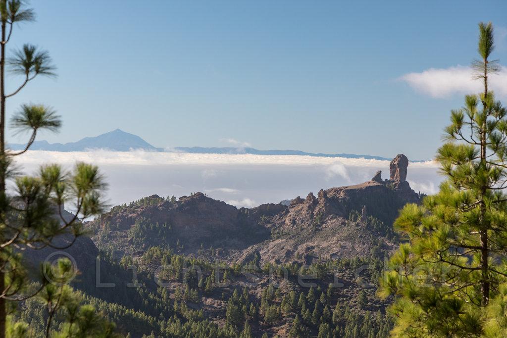 Roque Nublo und Teide